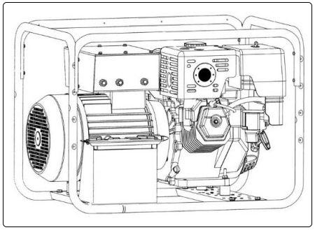 generator-zeichnung