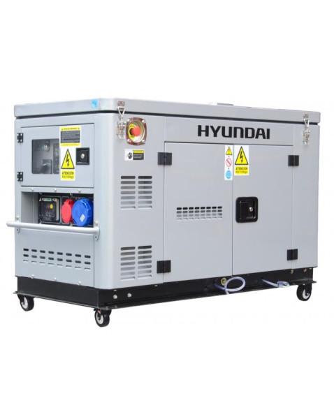 HYUNDAI DHY 12000XSE-T D - Silent Dieselaggregat