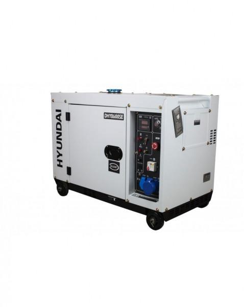 HYUNDAI DHY8600SE D Diesel Notstromaggregat Hauptansicht